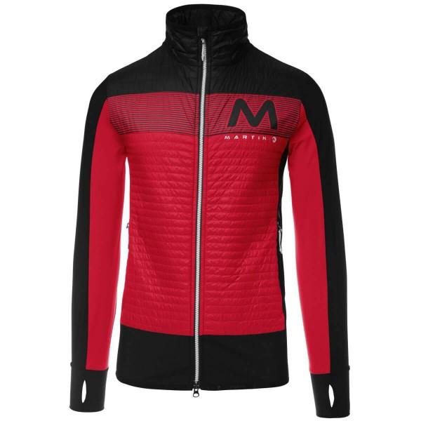 Martini Seven Summits Funktionsjacke schwarz rot