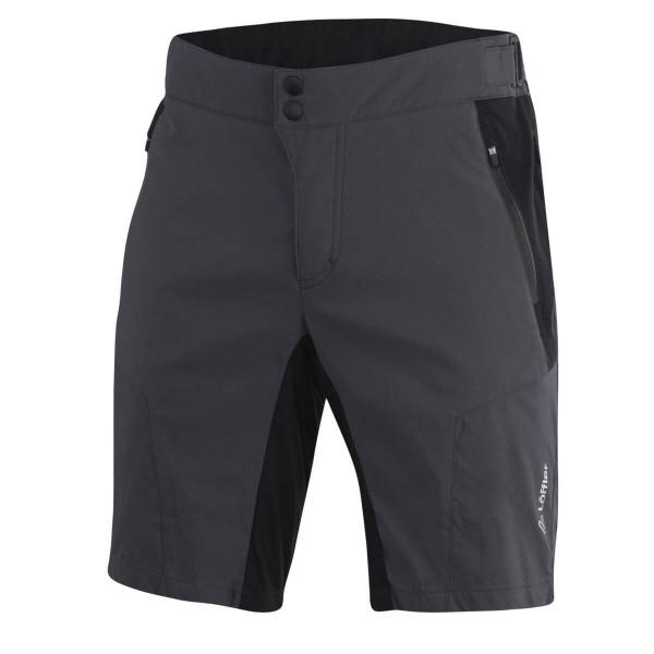 Löffler M Bike Shorts EVO CSL Radhose kurz grau