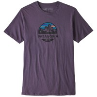 Patagonia Fitz Roy Scope Organic T-Shirt lila