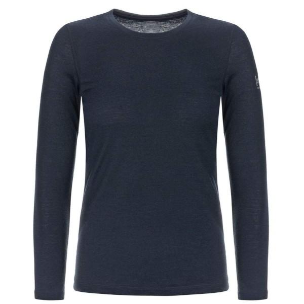 Super.Natural W Base LS 140 Merino Damen Funktionsshirt blau
