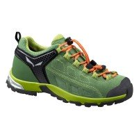 Salewa Alp Player WP Junior Kinder Trekkingschuhe grün