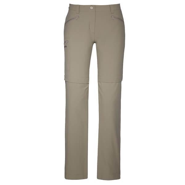 Schöffel Pants Val di Sole Damen Zip Off Wanderhose grau