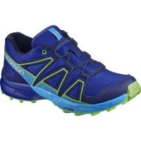 Salomon Speedcross Kinder Laufschuhe blau