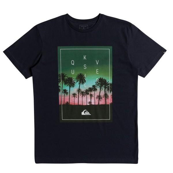 Quiksilver Classic Salina Stars SS T-Shirt schwarz