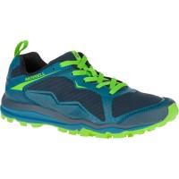 Merrell All Out Crush Light Trail Running Laufschuhe blau grün