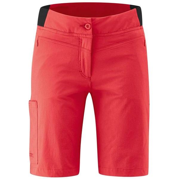 Maier Sports Lulaka Shorts Vario Damen Wanderhose kurz rot