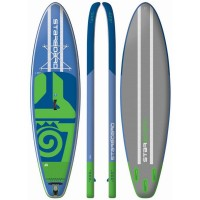 Starboard Inflatable SUP Board Widepoint Zen Breite 32 blau 2018