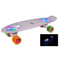 Hudora Skateboard Retro Rainglow