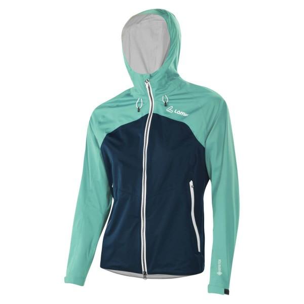 Löffler Hooded Jacket Ponto GTX Active Damen Outdoorjacke mint