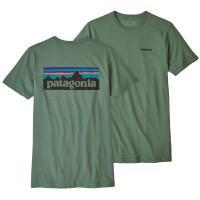 Patagonia P-6 Logo Organic T-Shirt grün