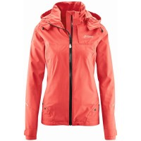 Maier Sports Solveig Damen Fernwanderjacke Trekkingjacke orange