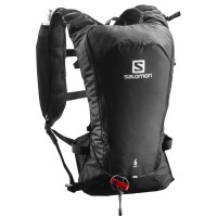 Salomon Agile 6 SET Laufrucksack schwarz