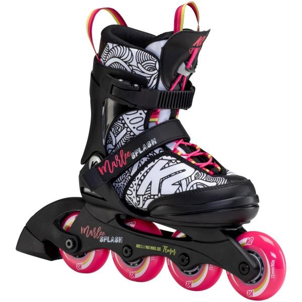 K2 Marlee Splash Kinder Inline Skates schwarz pink
