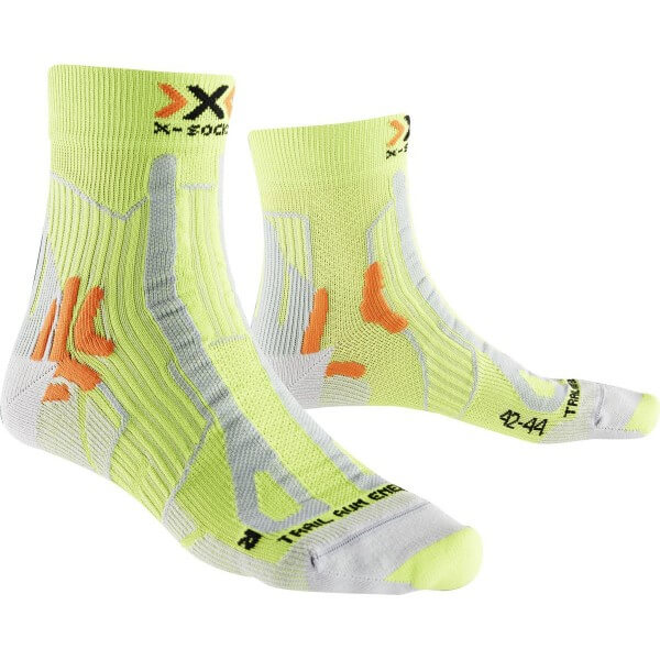 X-Socks Trail Run Energy Man Sportsocken grün