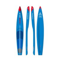 Starboard Composite SUP Board All Star Carbon Sandwich Breite 24,5 blau