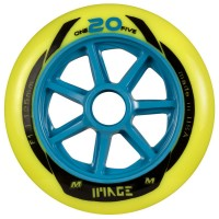 Matter Wheels One20Five 125mm F1 Inline Skates Rollen 6 Stück