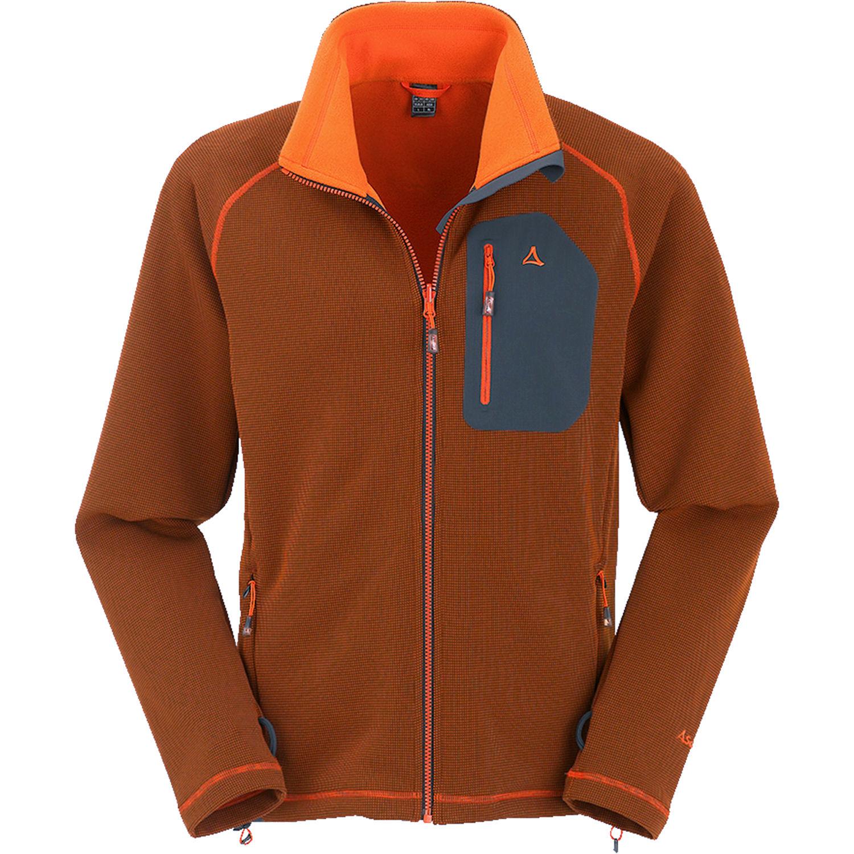 Schöffel Karwendel Fleecejacke orange online kaufen   ▻ 3s-sports.de 1ffae81a11