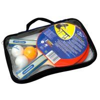 Hudora Tischtennis Set New Contest Tischtennisschläger und Bälle Set