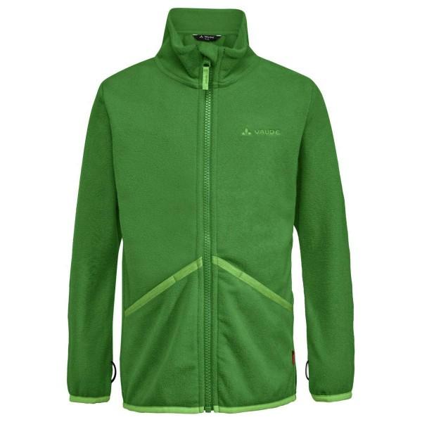 VAUDE Pulex Jacket Kinder Fleecejacke grün
