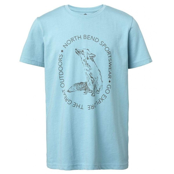North Bend Vertical Tee Kinder T-Shirt grün
