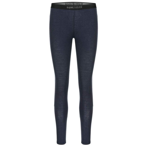 Super.Natural W Base Tight 175 Merino Damen Funktionsunterhose blau