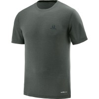 Salomon Explore SS TEE T-Shirt Funktionsshirt braun