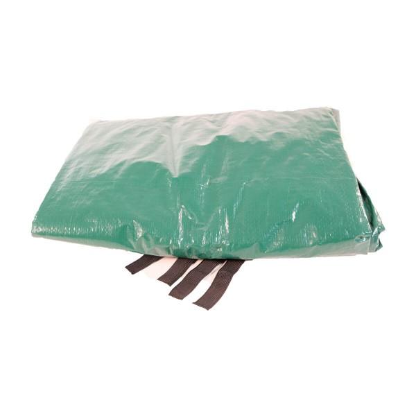 Trampolin Regenschutz 305 Wetterschutz grün