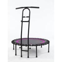 Joka Fit Trampolin Cacau Indoor Fitnesstrampolin schwarz pink