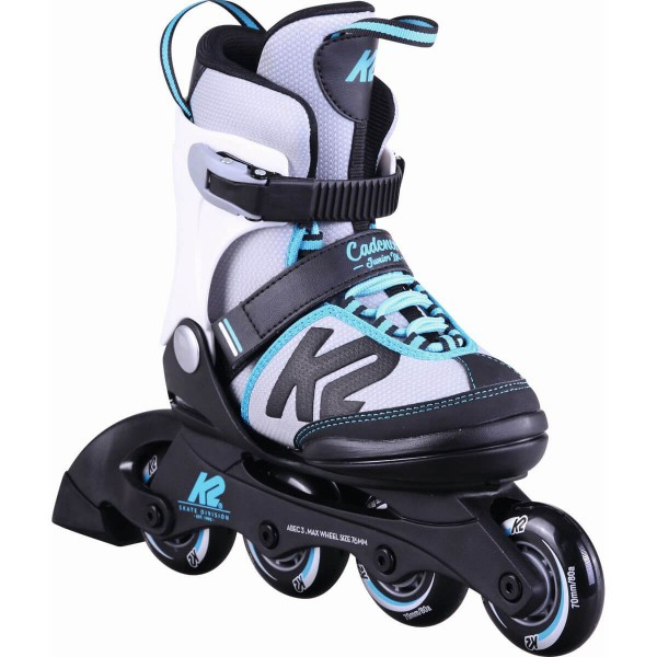 K2 Cadence JR Ltd Girl Kinder Inline Skates blau