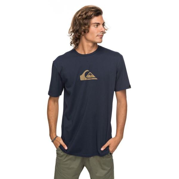 Quiksilver Classic Comp Logo SS T-Shirt blau