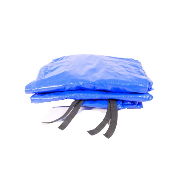 Trampolin Regenschutz 366 Wetterschutz blau