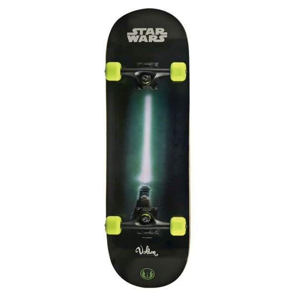 Volten Boards Star Wars Skateboard YODA grün