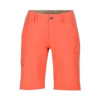 Marmot Lobos Shorts Damen Bermuda Wanderhose kurz rot