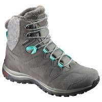 Salomon Ellipse Winter GTX Damen Wanderschuhe grau