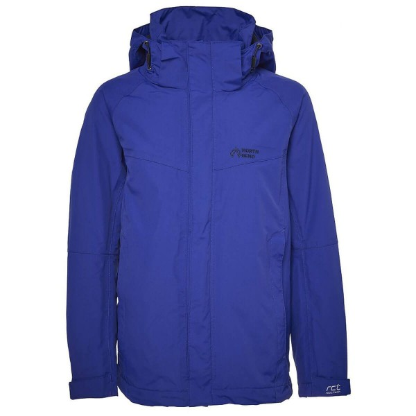 North Bend ExoRain Jacket Kinder Regenjacke blau