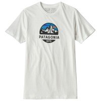 Patagonia Fitz Roy Scope Organic T-Shirt weiß