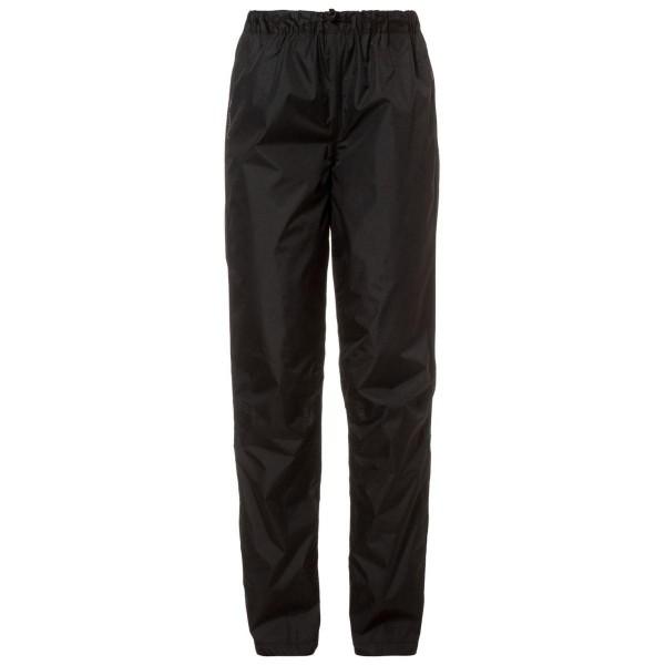 VAUDE Fluid Pants Damen Regenhose schwarz