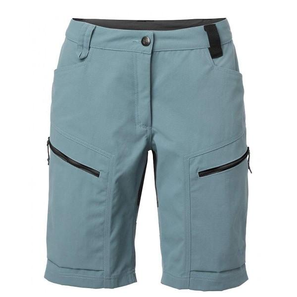 North Bend Trekk Shorts Damen Wanderhose kurz blau