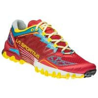 La Sportiva Bushido Damen Trail Running Laufschuhe rot