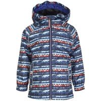 Killtec Pipsy Mini Kinder Regenjacke blau