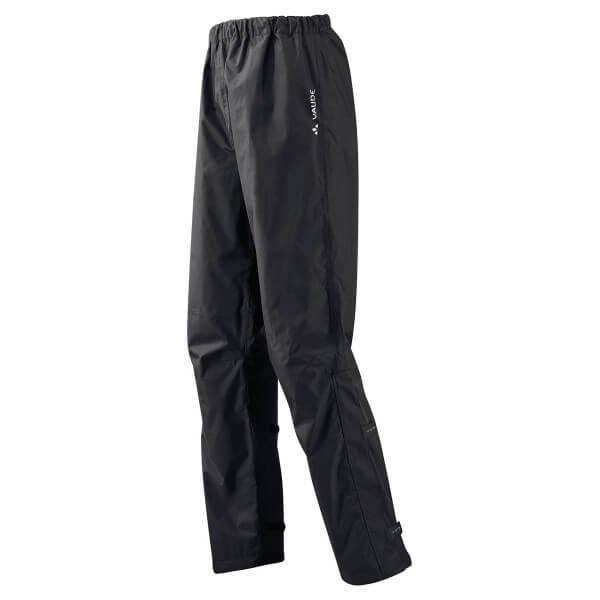 VAUDE Fluid Pants II Regenhose schwarz