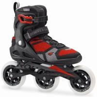Rollerblade Macroblade 110 3WD Inline Skates schwarz rot