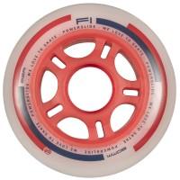 Powerslide F1 Inline Skates Rollen Set 8 Stück 80mm rot