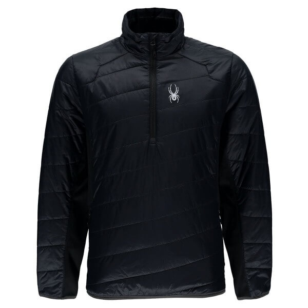 Spyder Glissade Half Zip Insulator Jacket Funktionspullover schwarz