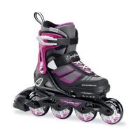 Rollerblade Spitfire Girl Kinder Inline Skates schwarz pink