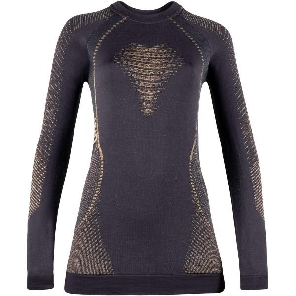 UYN Lady Cashmere Shiny 2.0 Shirt Funktionsshirt gold