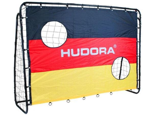 Hudora Fußballtor Match D mit Target Shot