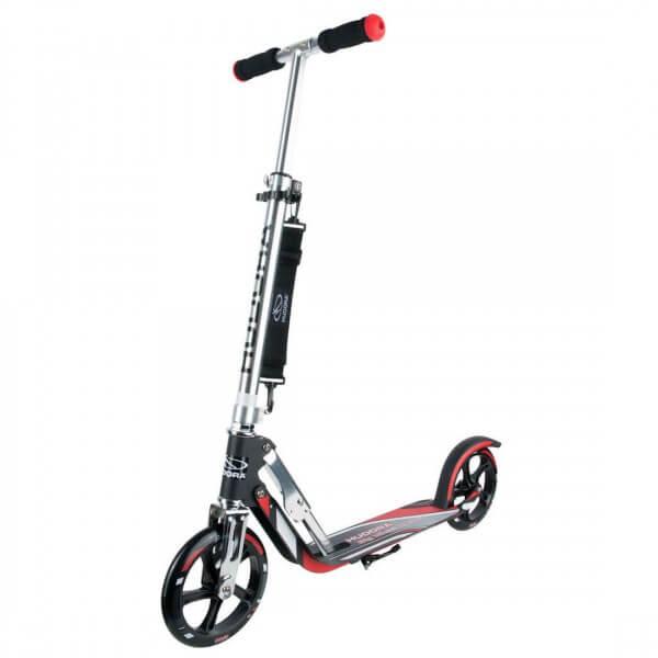 Hudora Big Wheel 205 Roller RX-Pro 205 Scooter rot schwarz