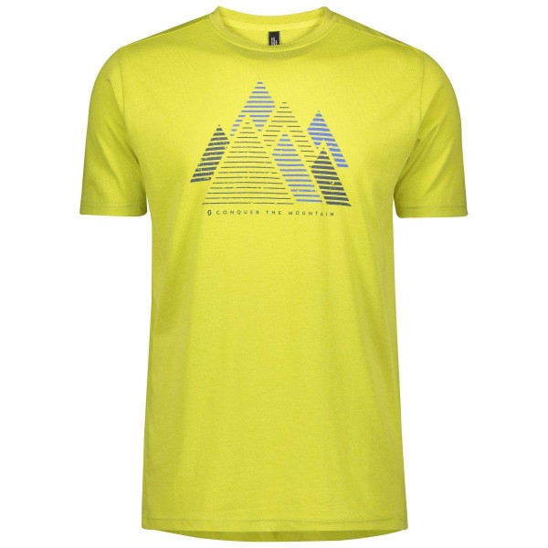 Scott Trail MTN DRI graphic Shirt Laufshirt gelb