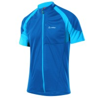 Löffler Bike Shirt FZ Radtrikot Übergrößen Trikot blau